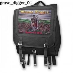 Plecak kostka Grave Digger 01