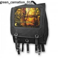 Plecak kostka Green Carnation 01