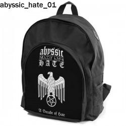 Plecak szkolny Abyssic Hate 01