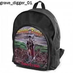 Plecak szkolny Grave Digger 01