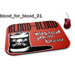 Podkładka pod mysz Blood For Blood 01