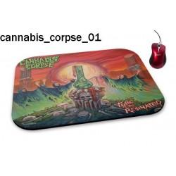 Podkładka pod mysz Cannabis Corpse 01