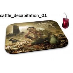 Podkładka pod mysz Cattle Decapitation 01