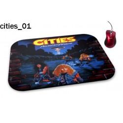 Podkładka pod mysz Cities 01