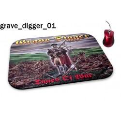 Podkładka pod mysz Grave Digger 01