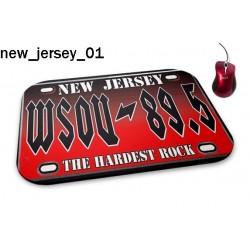 Podkładka pod mysz New Jersey 01