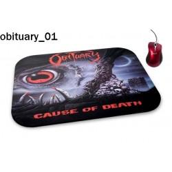Podkładka pod mysz Obituary 01