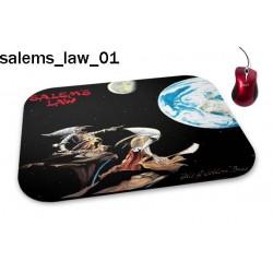 Podkładka pod mysz Salems Law 01