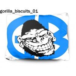 Poduszka Gorilla Biscuits 01