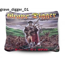 Poduszka Grave Digger 01