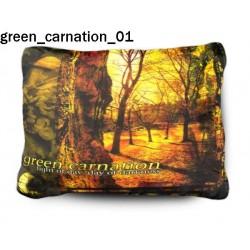 Poduszka Green Carnation 01
