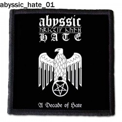 Naszywka Abyssic Hate 01
