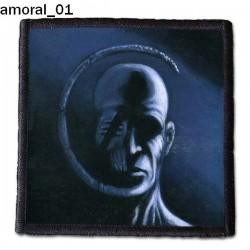 Naszywka Amoral 01