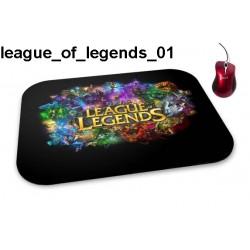 Podkładka pod mysz League Of Legends 01