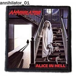 Naszywka Annihilator 01