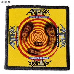 Naszywka Anthrax 08