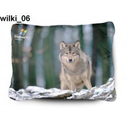 Poduszka Wilki 06