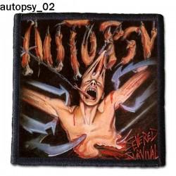 Naszywka Autopsy 02
