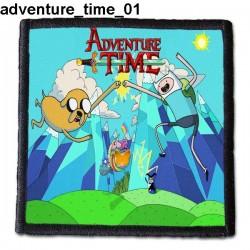 Naszywka Adventure Time 01
