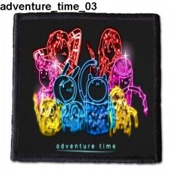 Naszywka Adventure Time 03