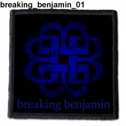 Naszywka Breaking Benjamin 01