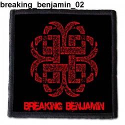 Naszywka Breaking Benjamin 02