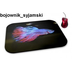 Podkładka pod mysz Bojownik Syjamski 01