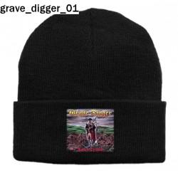 Czapka zimowa Grave Digger 01