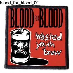 Naszywka Blood For Blood 01
