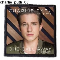 Naszywka Charlie Puth 03
