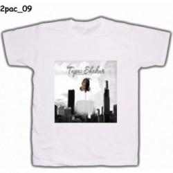 Koszulka 2pac 09 biała