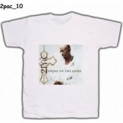 Koszulka 2pac 10 biała