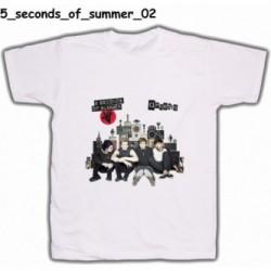 Koszulka 5 Seconds Of Summer 02 biała