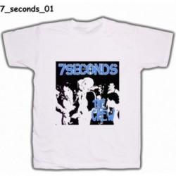 Koszulka 7 Seconds 01 biała