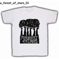 Koszulka A Forest Of Stars 01 biała