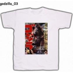 Koszulka Godzilla 03 biała