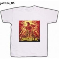 Koszulka Godzilla 05 biała