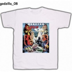 Koszulka Godzilla 08 biała