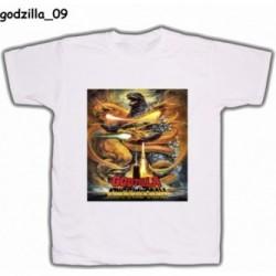 Koszulka Godzilla 09 biała