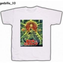 Koszulka Godzilla 10 biała