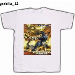 Koszulka Godzilla 12 biała
