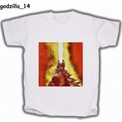 Koszulka Godzilla 14 biała