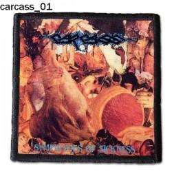 Naszywka Carcass 01