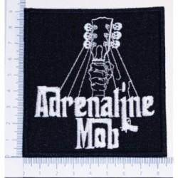 Naszywka haft Adrenaline Mob 01