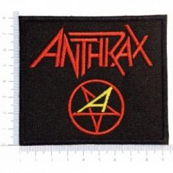 Naszywka haft Anthrax 01