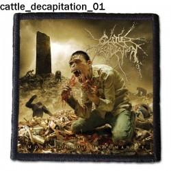 Naszywka Cattle Decapitation 01