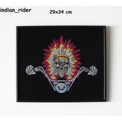 Obraz haftowany Indian Rider