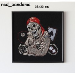 Obraz haftowany Red Bandama