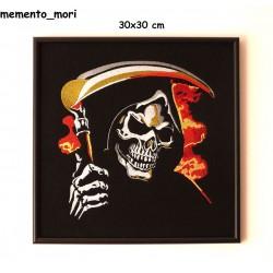 Obraz haftowany Trapper Skull