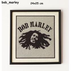 Obraz haftowany Bob Marley